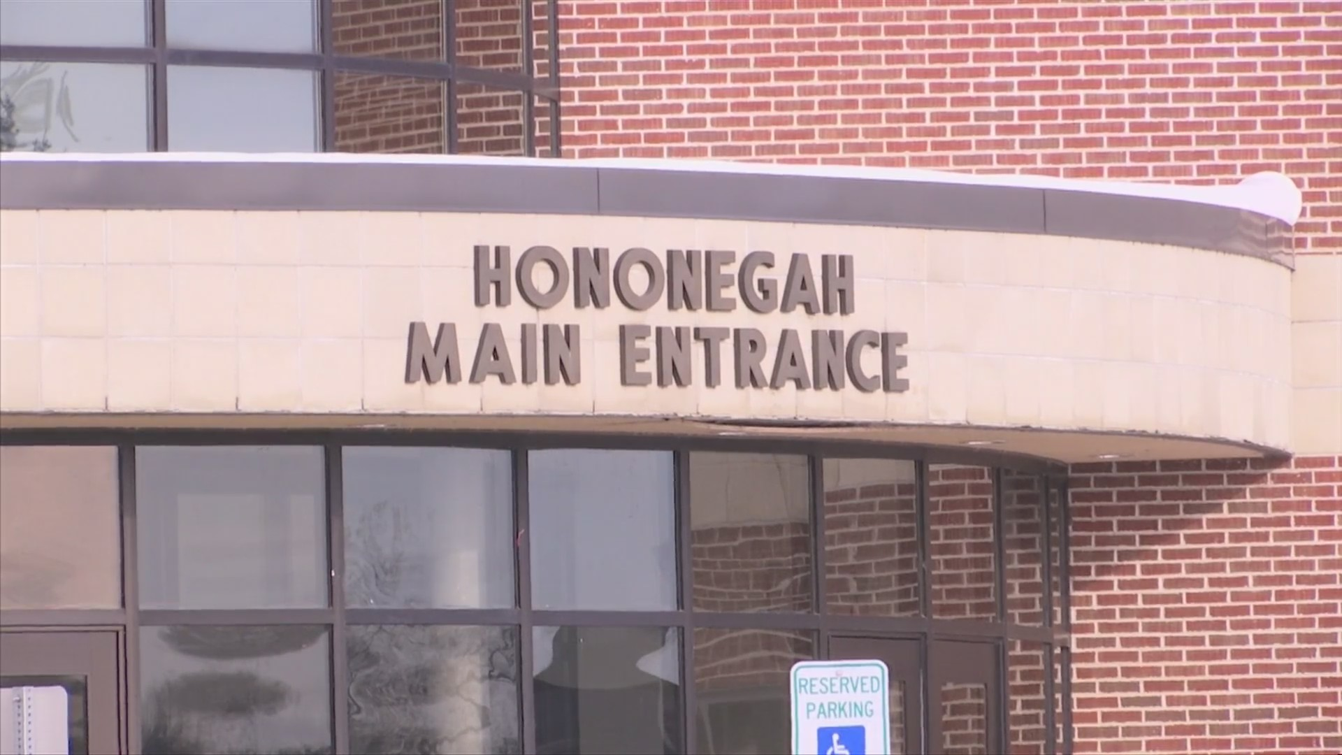 Accidental fire damages Hononegah High School