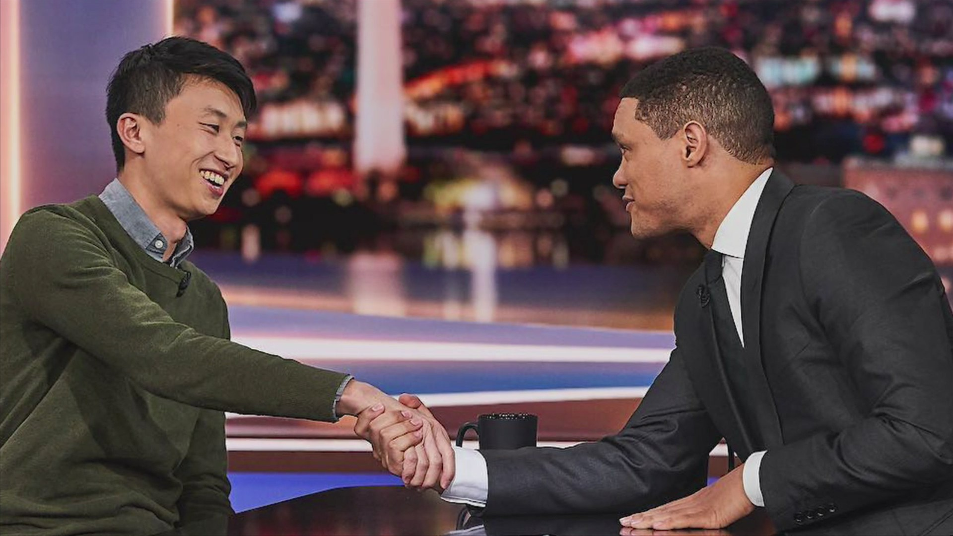 """Filmmaker, Rockford-native Bing Liu appears on """"The Daily Show"""""""