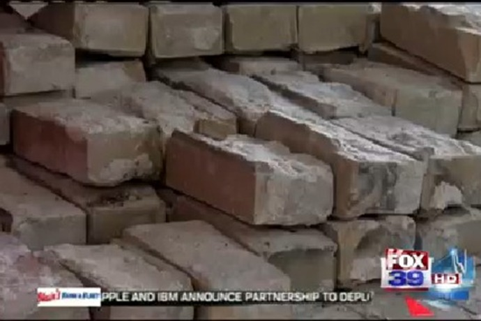 Bricks from former Cherry Valley Elementary School available