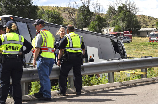 2 dead in charter bus crash in southern Colorado – MyStateline com