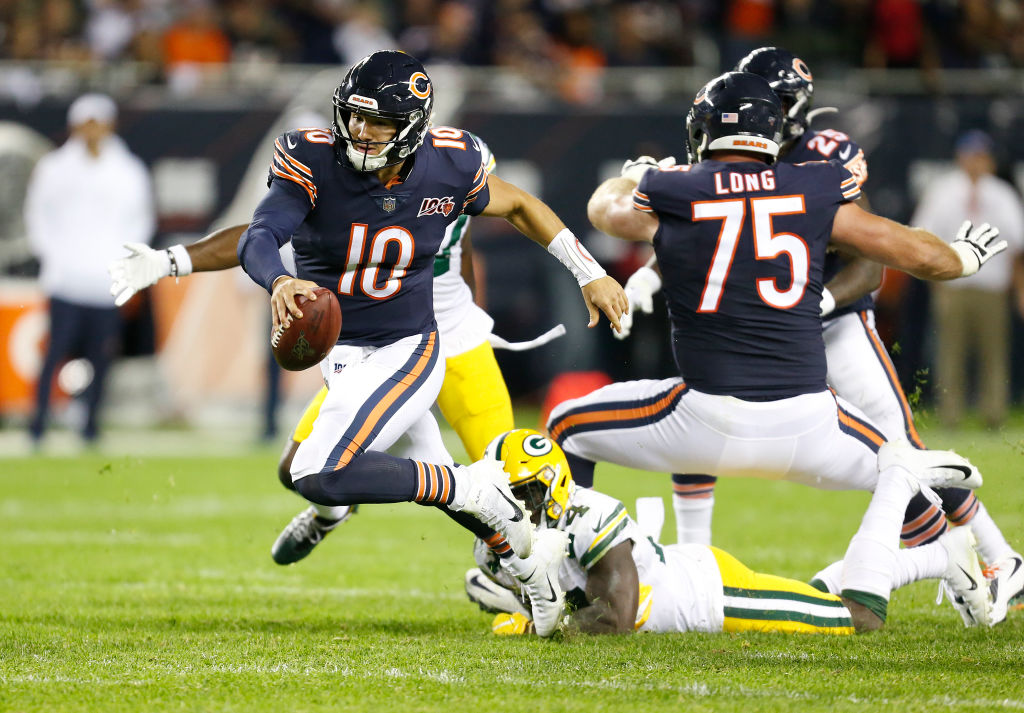 Trubisky, offense struggle in Bears opening loss to the Packers