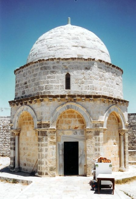 For many years a small mosque has stood over the rock on the Mount of Olives from where traditions say Jesus ascended into Heaven.