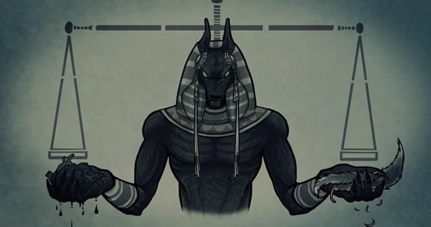 Anubis dioses egipcios
