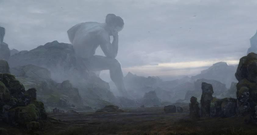 Antiguos gigantes de 10 metros de altura y la galería subterránea de Hiperbórea descubierta en Rumania