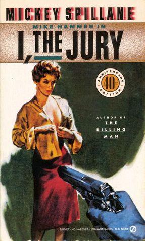 mickey spillane books movies mike hammer I the Jury