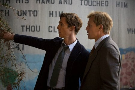 Matthew McConaughey And Woody Harrelson In HBO True Detective