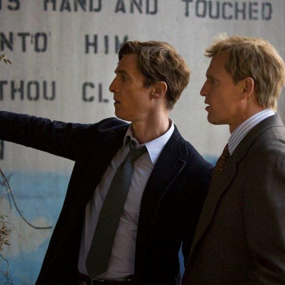 Matthew McConaughey And Woody Harrelson In HBO True Detective