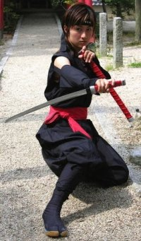 kunoichi ninja female