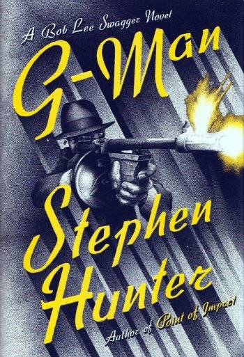 G-Man by Stephen Hunter best mystery thriller book covers 2017 book