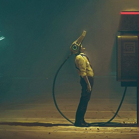 Scandinavian Kickstarter-Funded Book By Simon Stalenhag Goes Hollywood