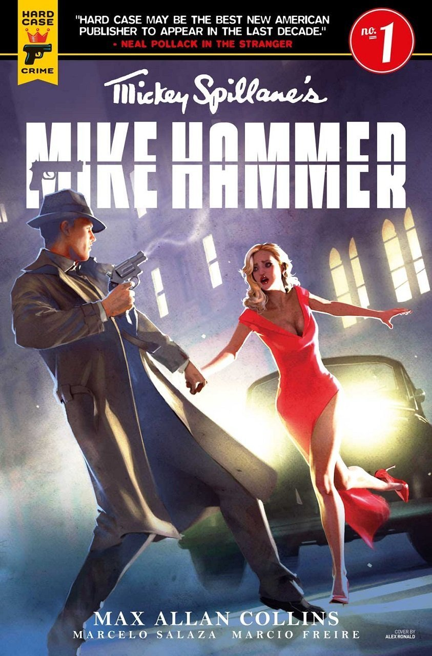 New Mike Hammer Comics To Celebrate Mickey Spillane 100 Anniversary