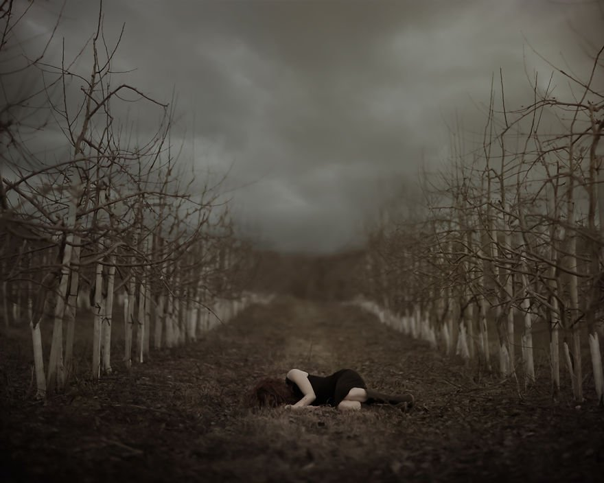 Dark Conceptual Storytelling Via Photography By Patty Maher