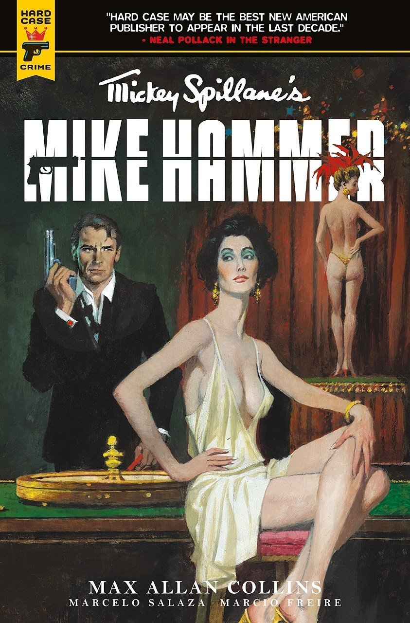 "Mike Hammer's ""The Night I died"": A 10-Page Preview"