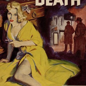 26 Best Cover Illustrators Behind Some Of The Most Iconic Vintage Crime And Thriller books  Mitchell Hooks main cover