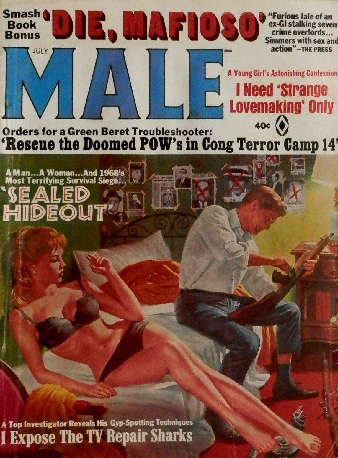 26 Best Cover Illustrators Behind Some Of The Most Iconic Vintage Crime And Thriller books Mort Kunstler