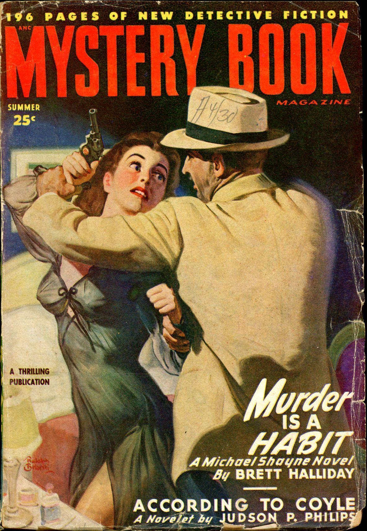 26 Best Cover Illustrators Behind Some Of The Most Iconic Vintage Crime And Thriller books Rudolph Belarski