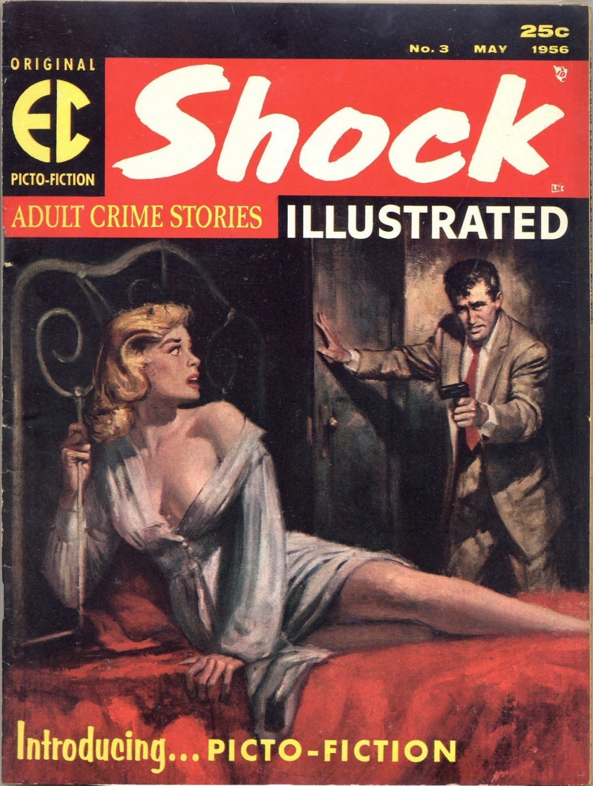 26 Best Cover Illustrators Behind Some Of The Most Iconic Vintage Crime And Thriller books Rudolph Rudy Nappi