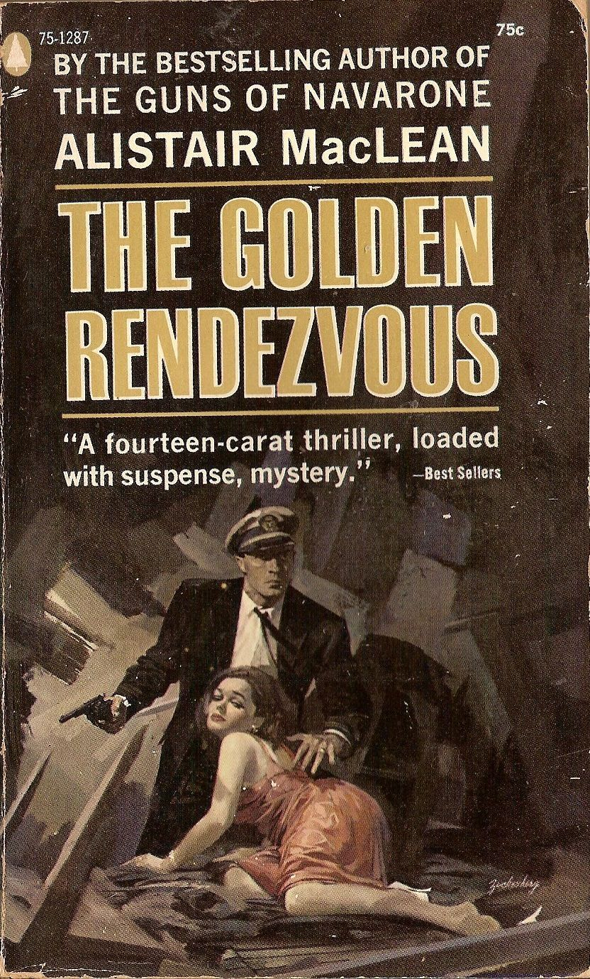 26 Best Cover Illustrators Behind Some Of The Most Iconic Vintage Crime And Thriller books Stanley M. Zuckerberg