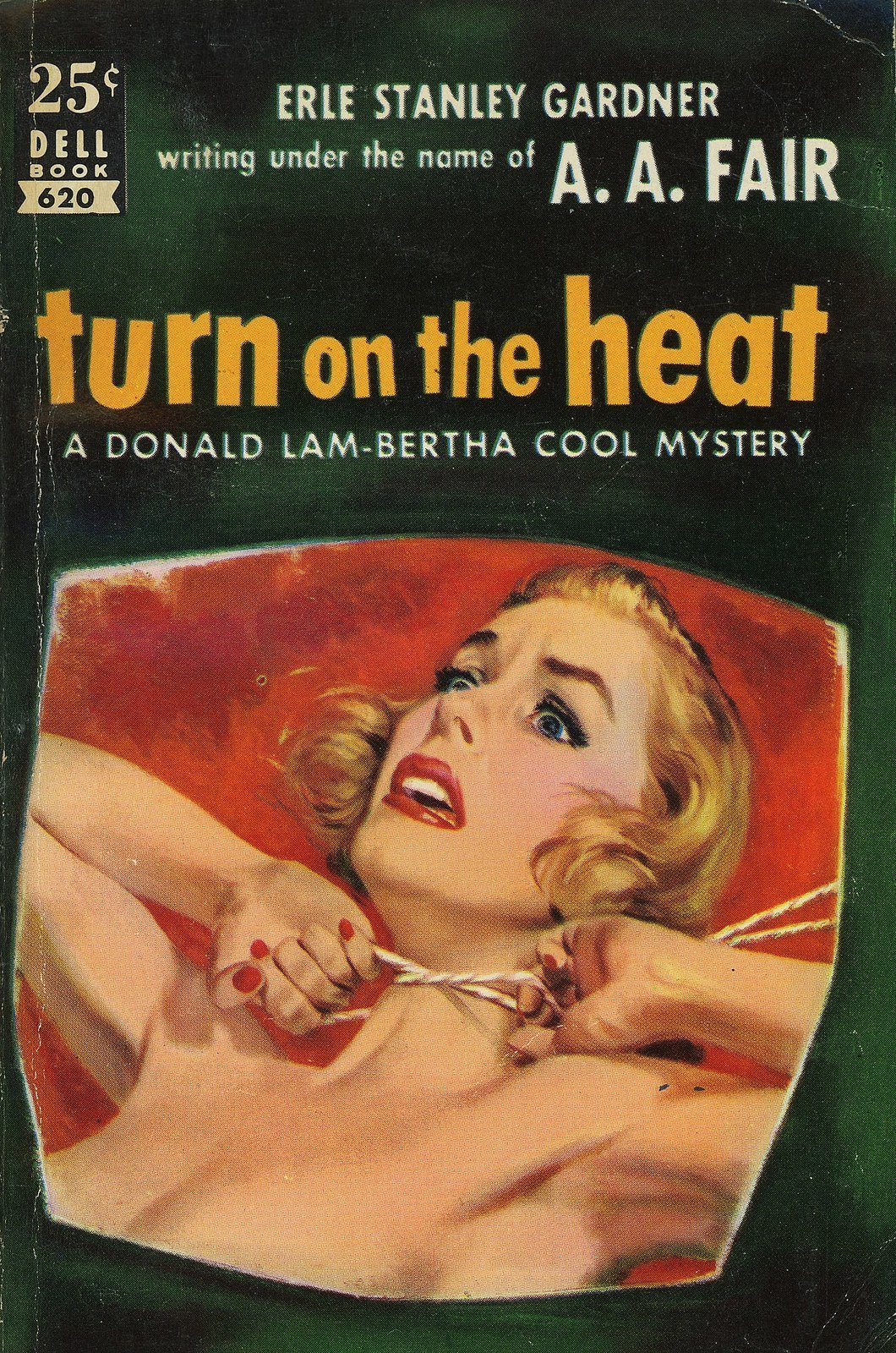 26 Best Cover Illustrators Behind Some Of The Most Iconic Vintage Crime And Thriller books Victor Kalin