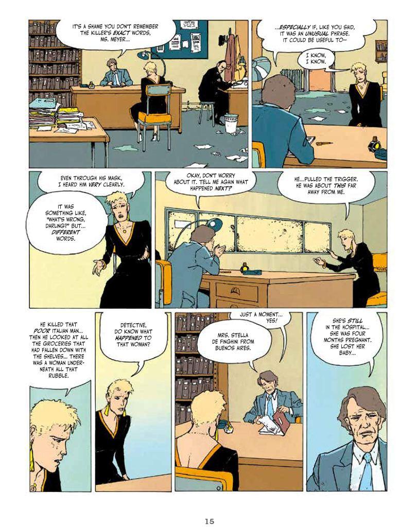 An Intense Feminist Crime Comics Dark Rage By Thierry Smolderen 5