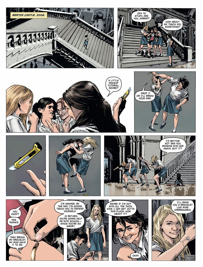 Amber Blake An Irresistible Thriller Comics With A Fearless Female Lead 2