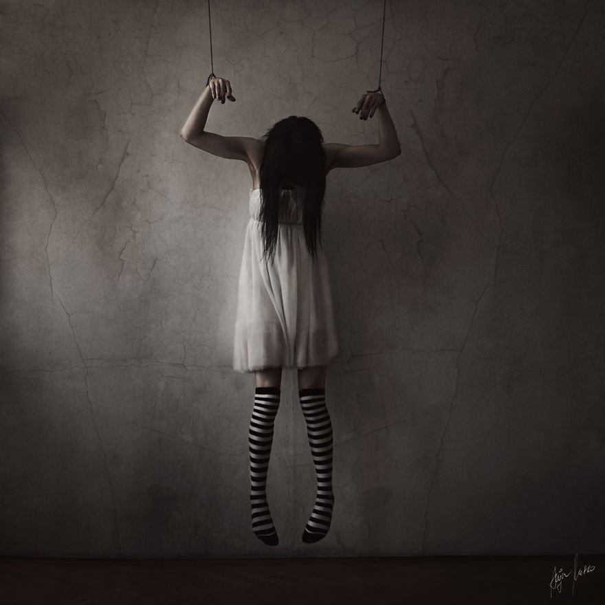 Magnificent And Mysterious Self-Portrait Photography By Anja Matko 17
