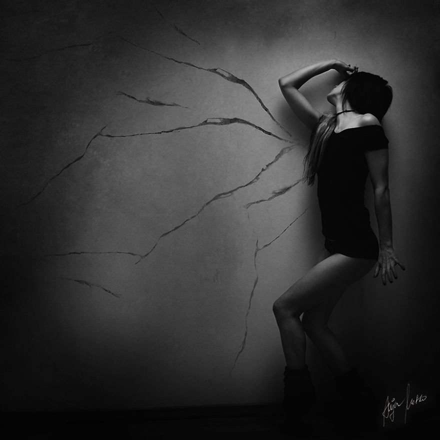 Magnificent And Mysterious Self-Portrait Photography By Anja Matko 8