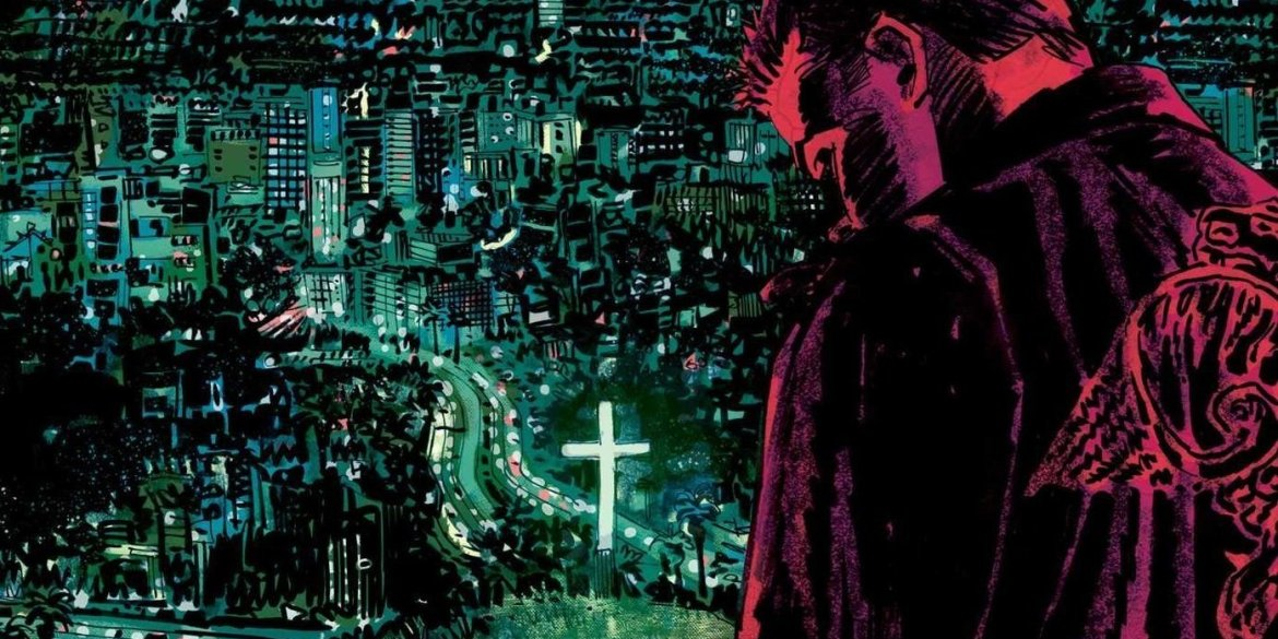 Joss Whedon Angel Exciting Graphic Novel About A Vampire Looking For Salvation