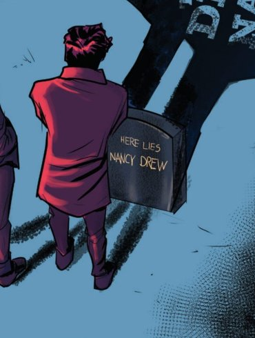 Who Killed Nancy Drew Noir Comics Featuring Death of Teen Detective