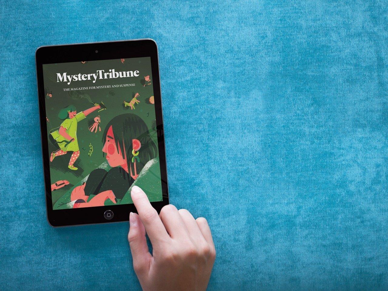 mystery tribune issue #12 2 release digital