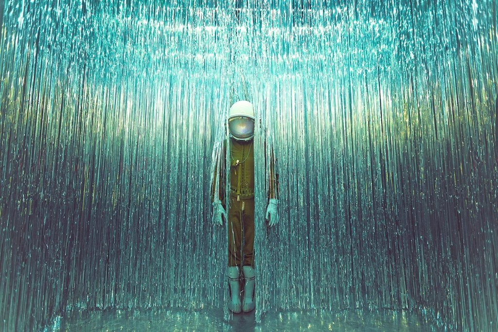 Karen Jerzyk's Surreal Photography The Lonely Astronaut 1