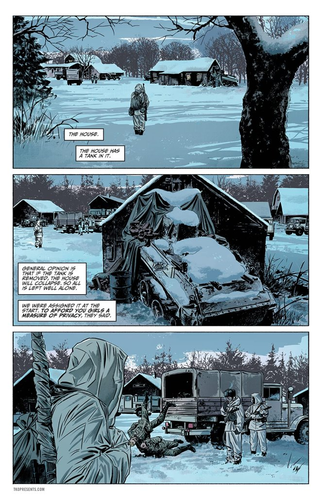 Sara A Solid World War II Thriller Comics With A Female Lead 3