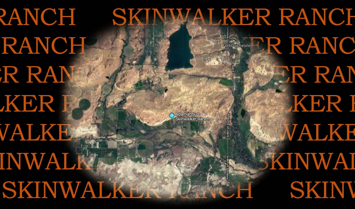 Skinwalker Ranch map
