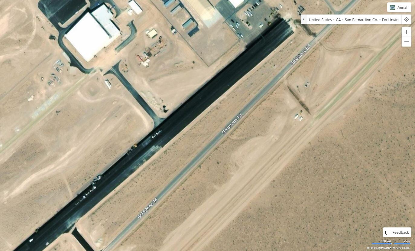 Goldfield Airport Construction