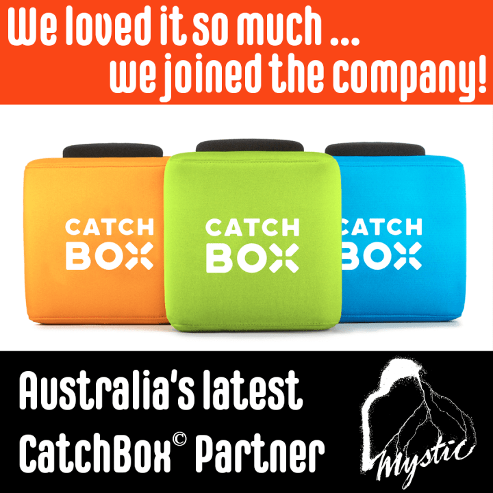 CatchBox Announce