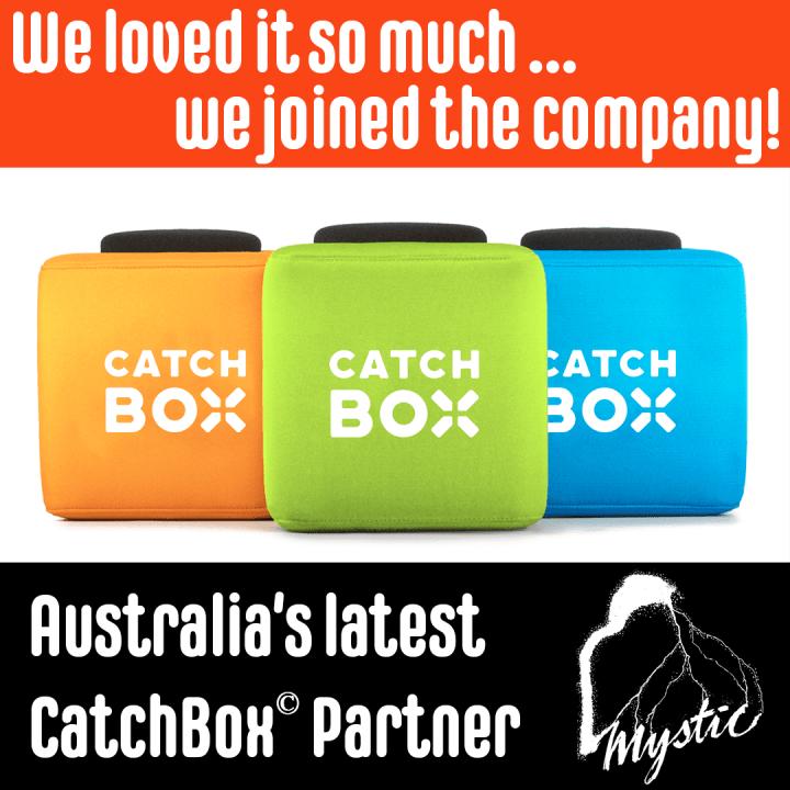 CatchBox Announce