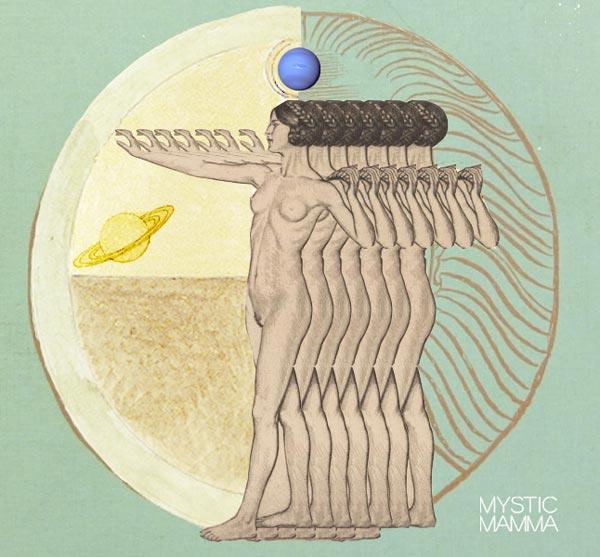 Image result for pisces saturn art