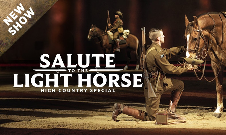 Stunning 'Salute to the Light Horse' show at the Outback Spectacular
