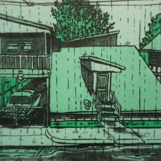 Duplexes in the rain