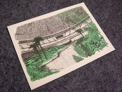 An oasis in the astrodome