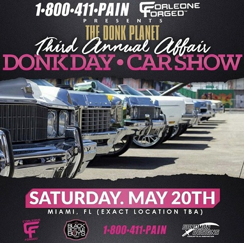 Event Want To Perform Donk Day May Th DM On IG DJKEE - Donk planet car show