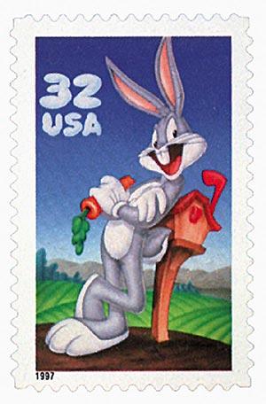 Estampilla Bugs Bunny