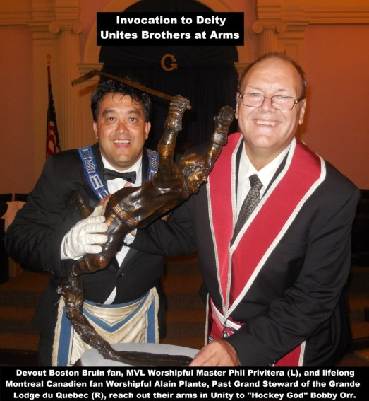 Invocation to Deity unites Brothers at Arms! Mystic Valley Lodge 9-8-15
