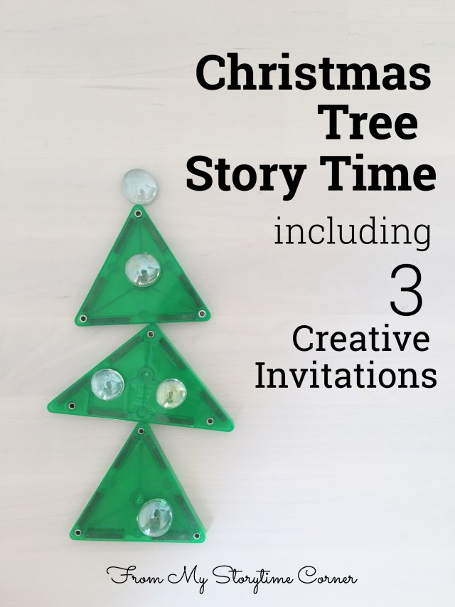 christmas tree kids invitations reggio create