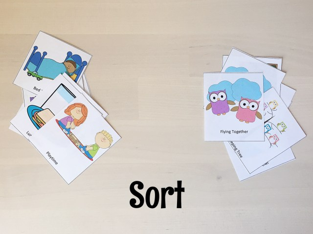 Sorting Owl Cards