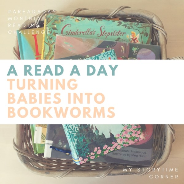 A Read A Day reading challenge for parents families and more. Turning babies into bookworms
