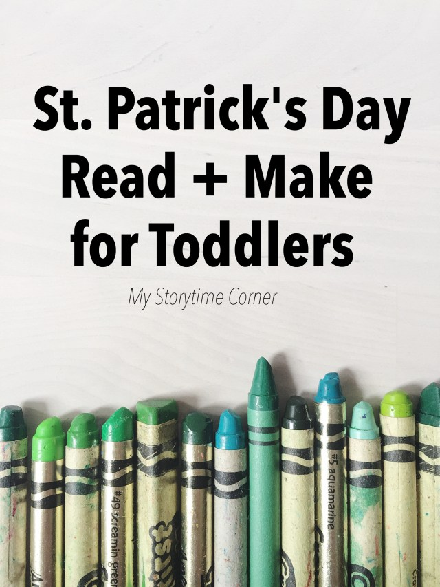 Simple St Patricks Day Read and Make for Toddlers