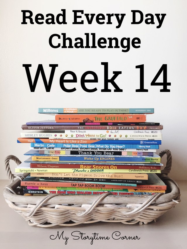 a read a day week 14 read every day challenge