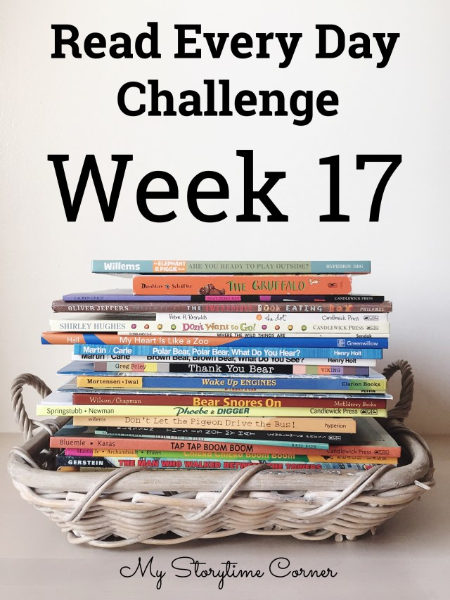 a read a day challenge Week 17
