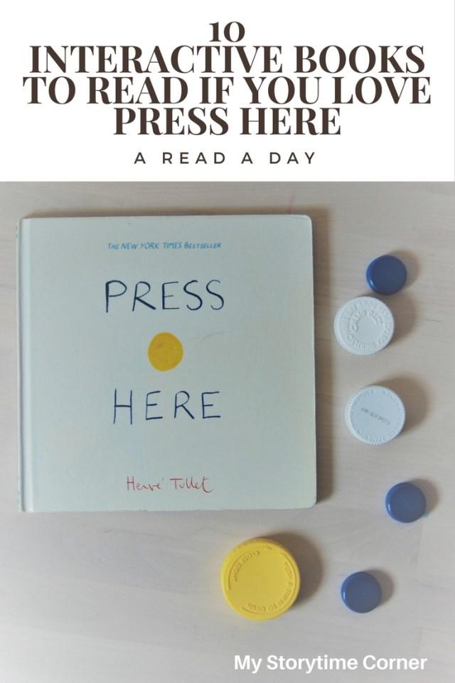Interactive picture books like press here